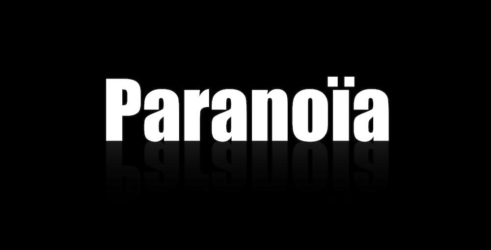 chanson paranoïa